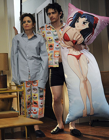 James Franco's Secret Affair With An Anime Body Pillow NikoSCREAM Gorgeous Funny Body Pillow Covers