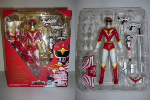 S.H. Figuarts Red Hawk from Choujin Sentai Jetman